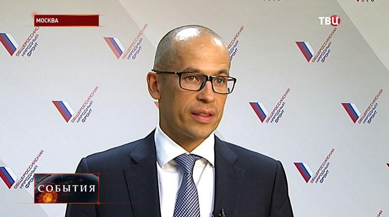 Сопредседатель народного фронта Александр Бречалов