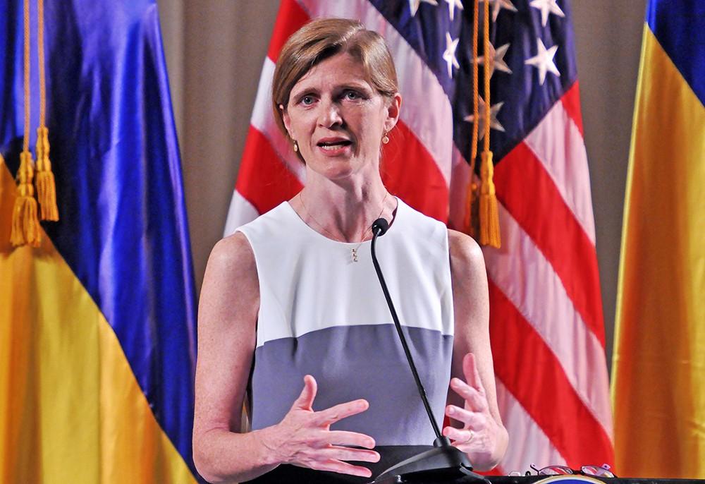 Постпред США в ООН Саманта Пауэр
