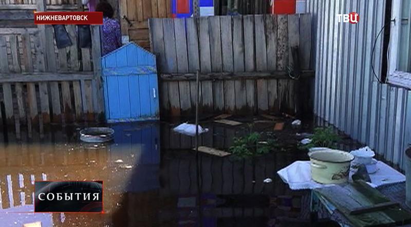 Наводнение в Нижневартовске