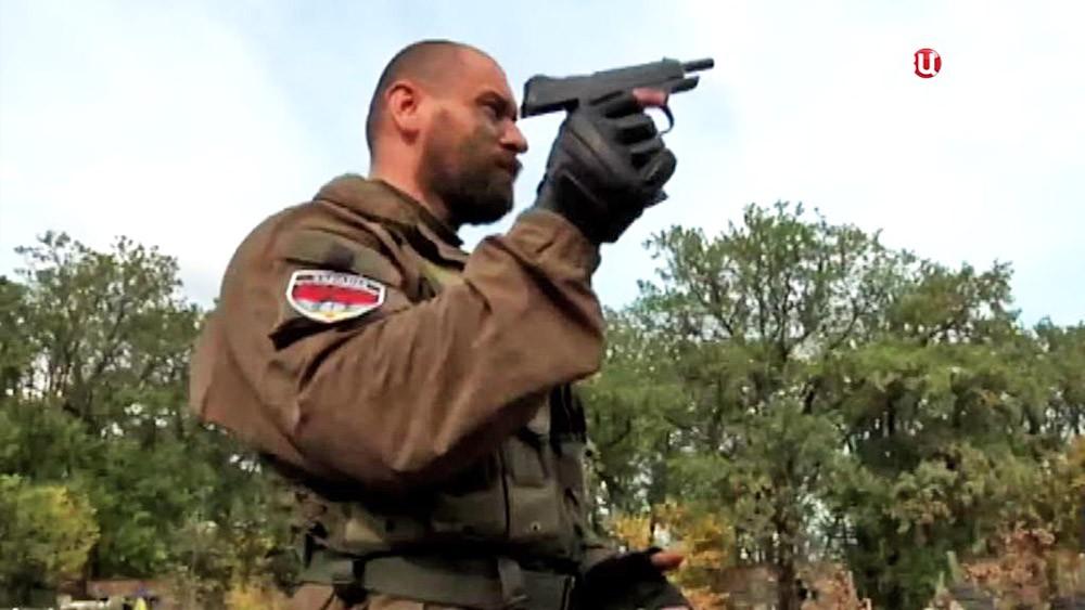 "Командир батальона ""Торнадо"" Руслан Онищенко"