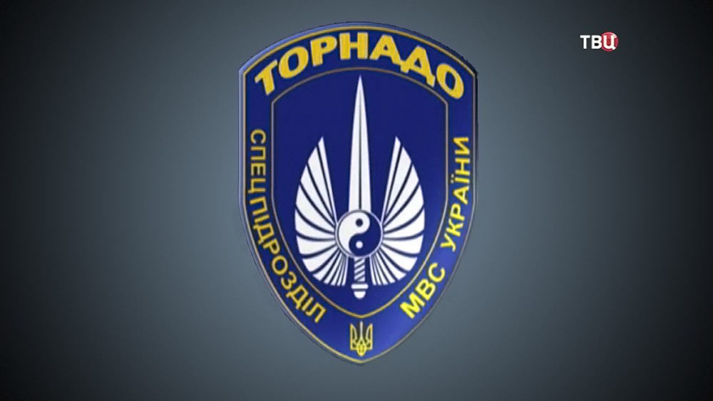 "Логотип батальона ""Торнадо"""