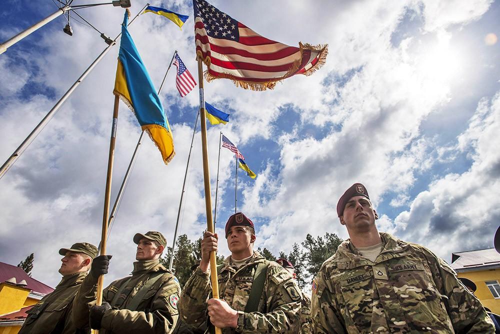 Украинские и американские военные