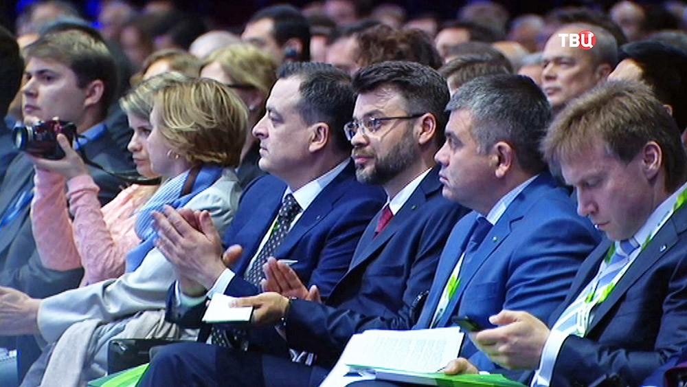 Участники Петербургского экономического форума