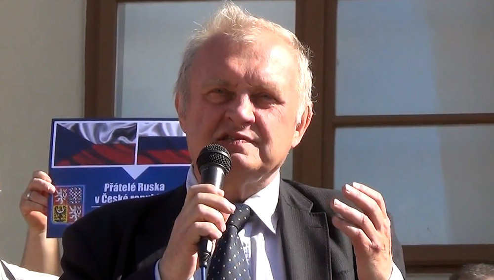 Депутат Европарламента от Чехии Милослав Рансдорф