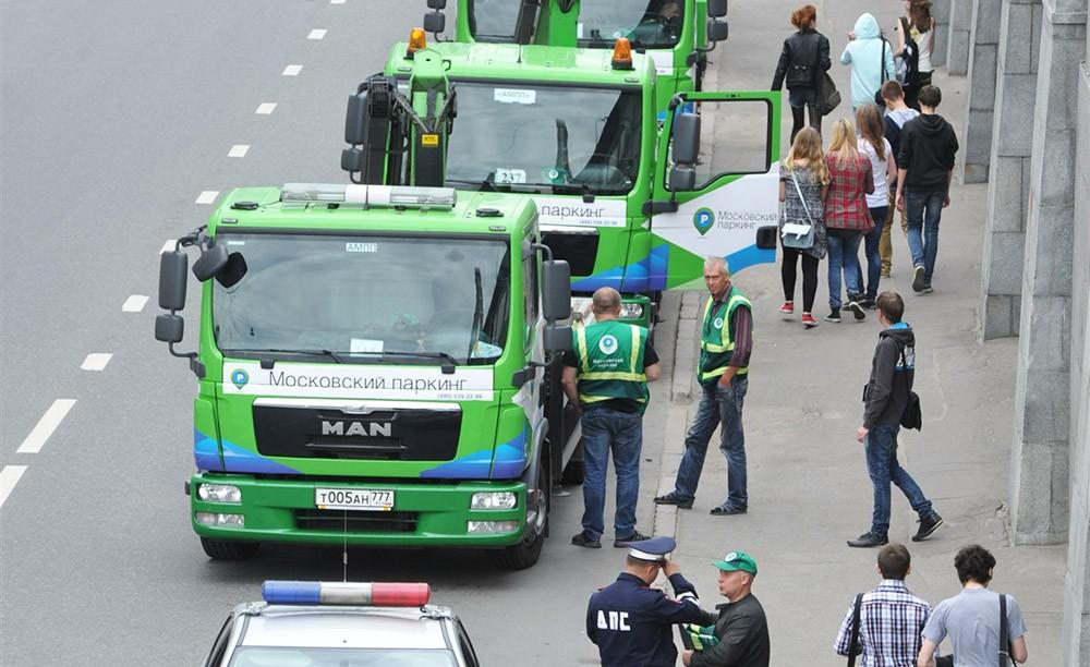 Эвакуаторы московского паркинга