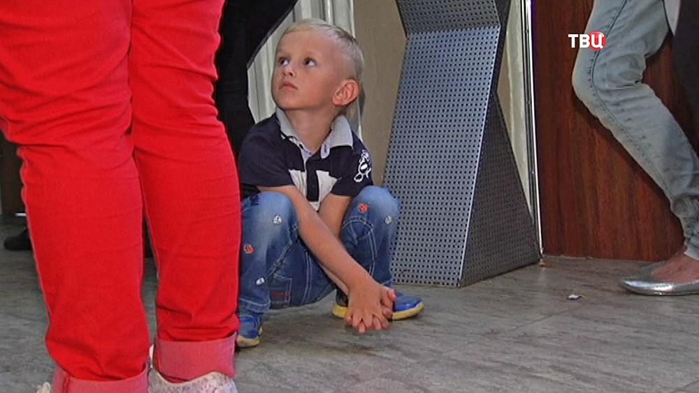 Ребёнок в детском саду