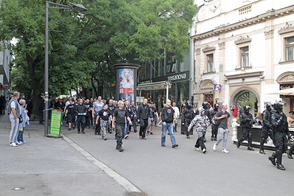 Митинг в Братиславе