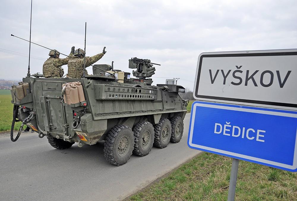 Военная техника армии США в Чехии