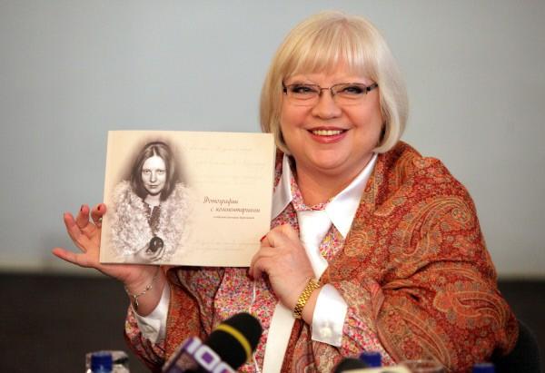 Актриса Светлана Крючкова