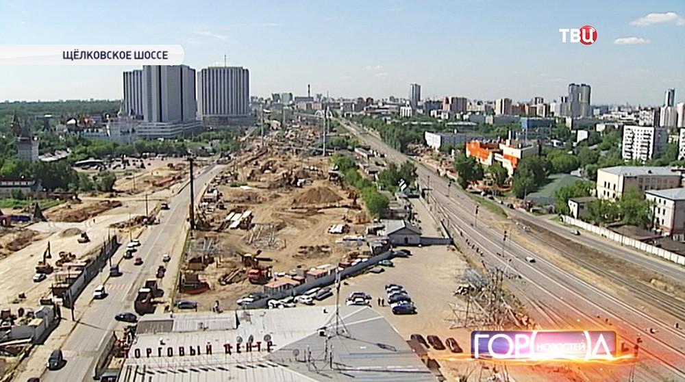 Участок хорды от Измайловского до Щелковского шоссе