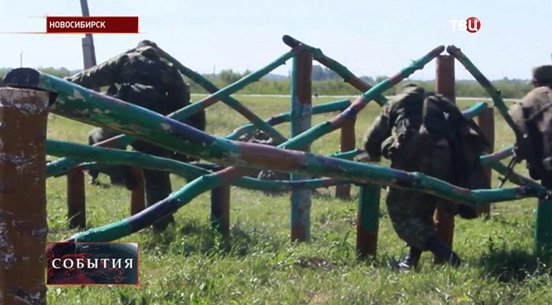 """Конкурс """"Отличник войсковой разведки"""" в Новосибирске"""
