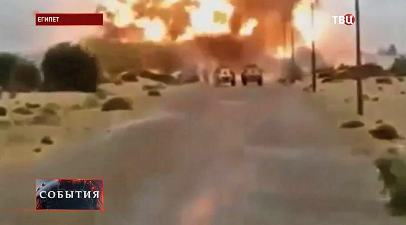 Боевые действия в Египете