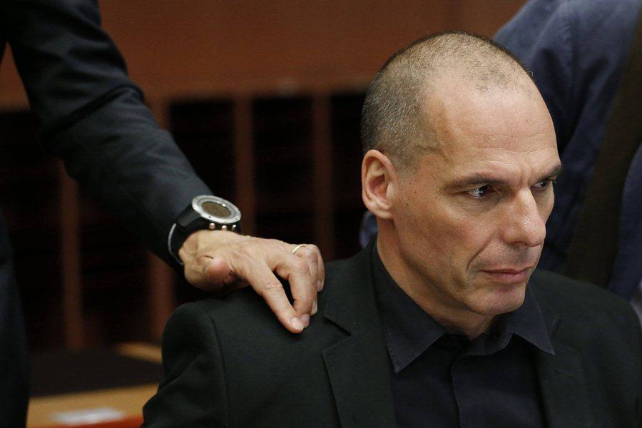 Министр финансов Греции Яннис Варуфакис