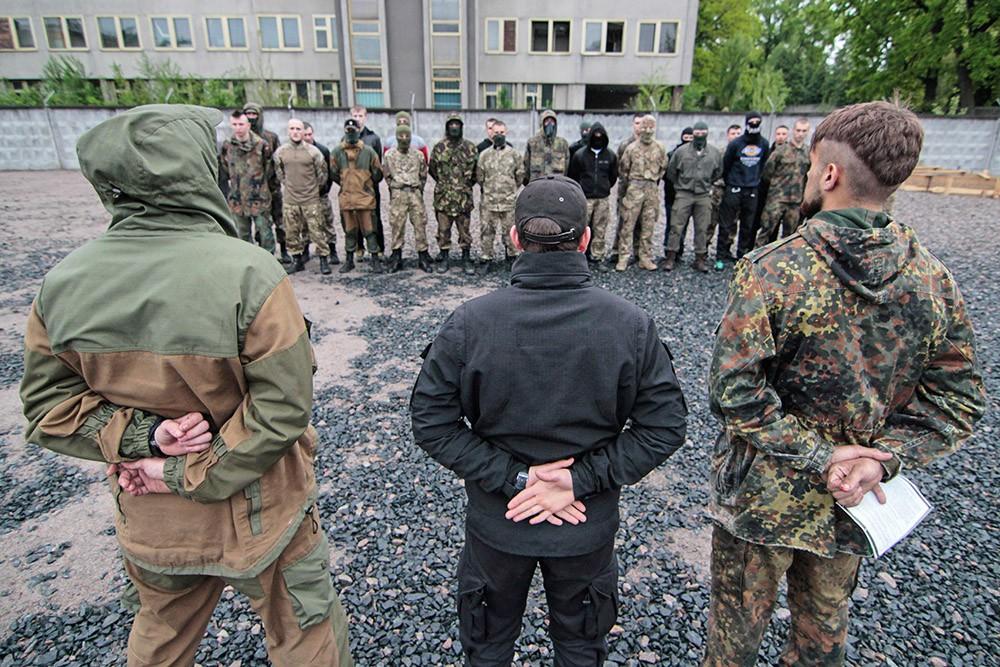 Набор бойцов в добровольческий батальон Украины