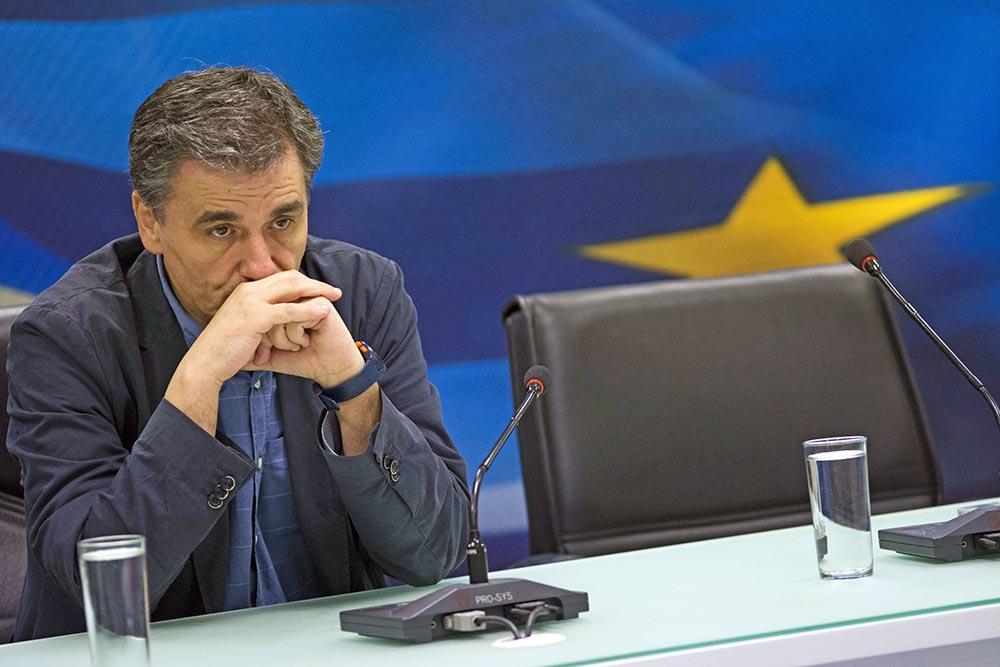 Министр финансов Греции Эвклидис Цакалотос