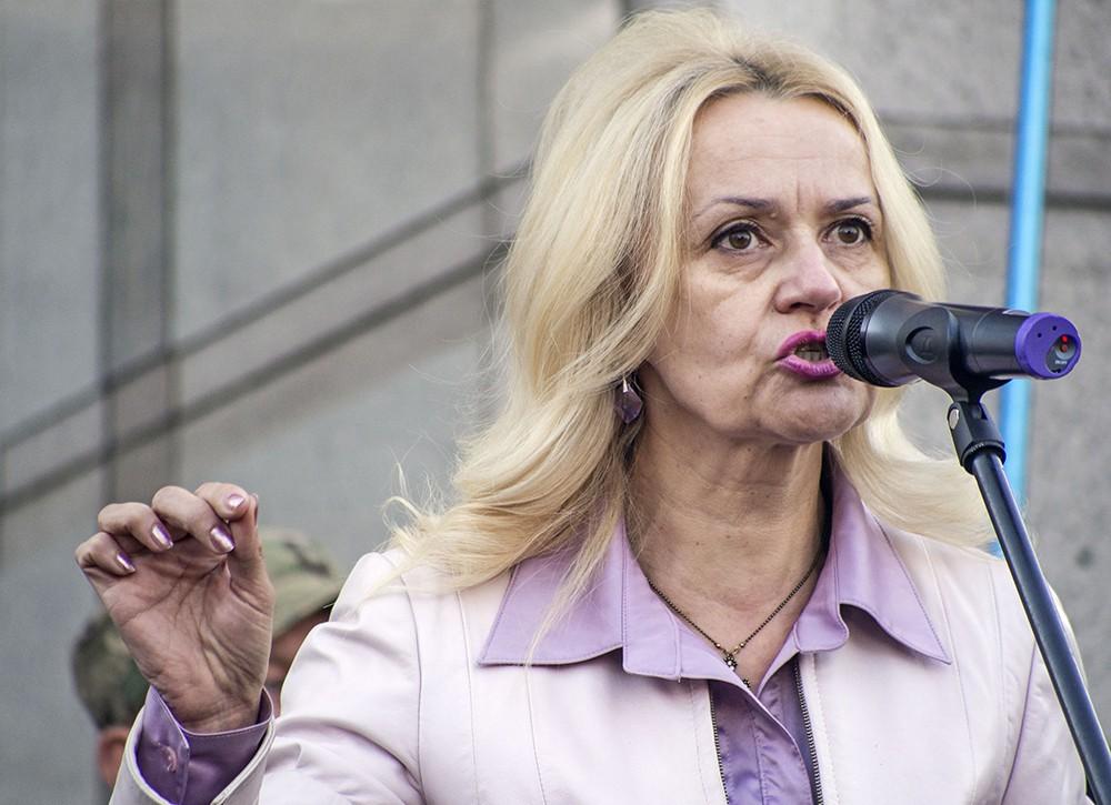 Депутат Верховной Рады Украины Ирина Фарион