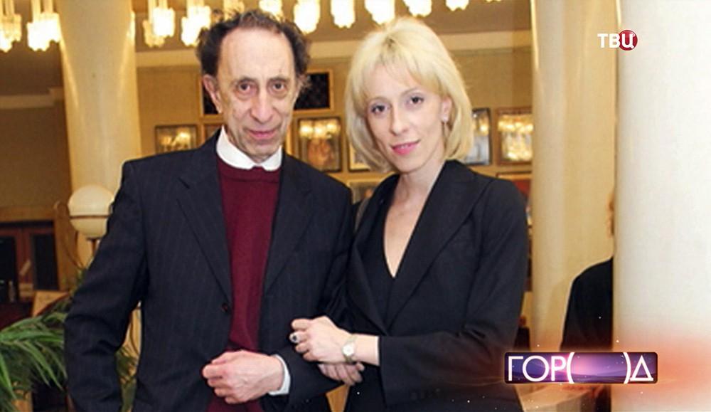 Актриса Юлия Рутберг с отцом, атёром Ильёй Рутберг