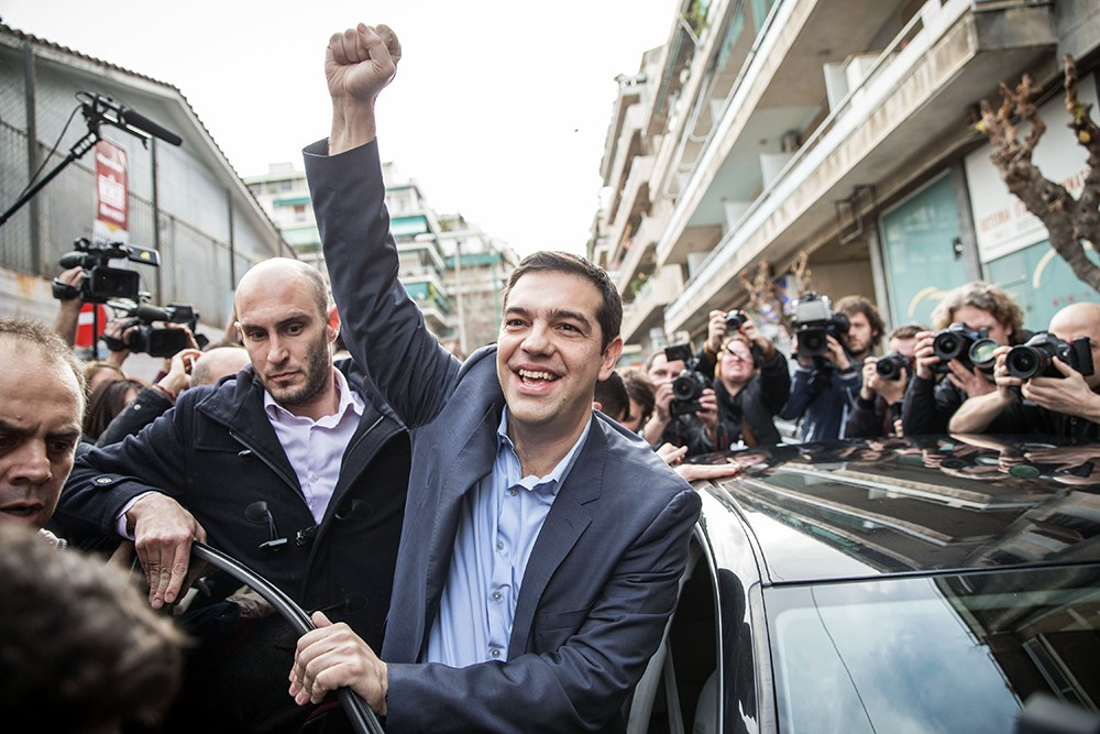 Премьер-министр Греции Алексис Ципрас