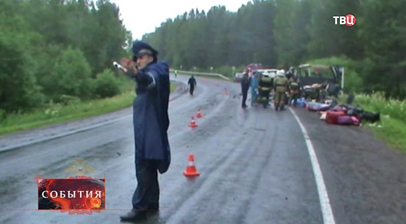 ДТП в Красноярском крае
