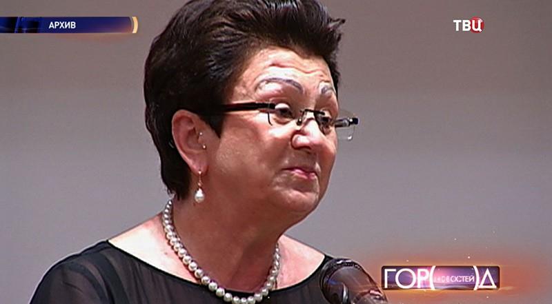 Директор Всероссийской государственной библиотеки иностранной литературы Екатерина Гениева