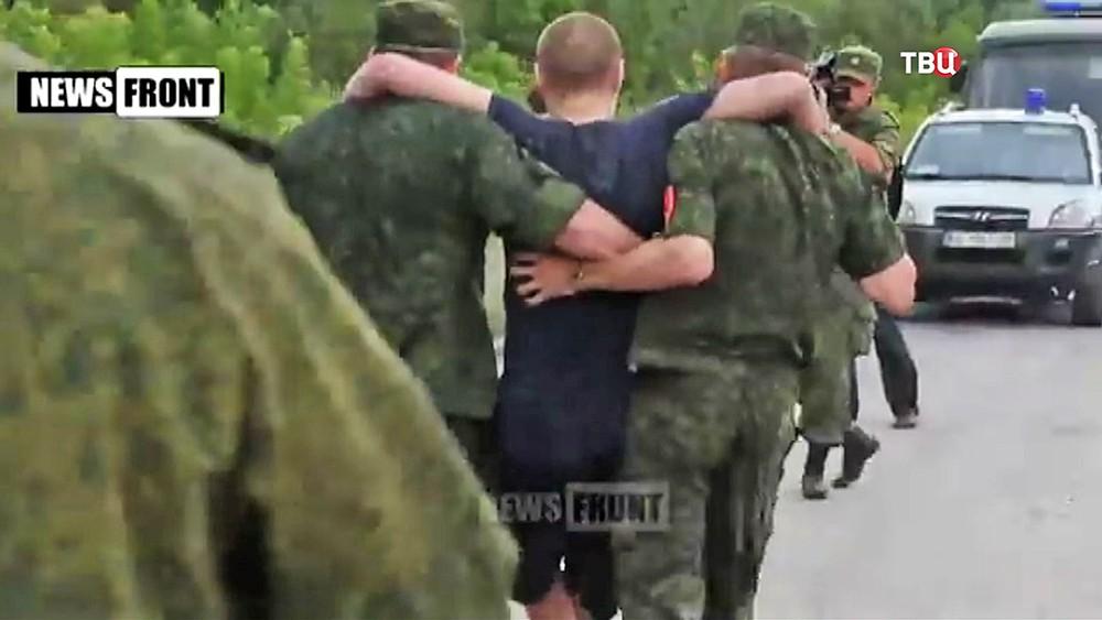 Обмен пленными в Донбассе