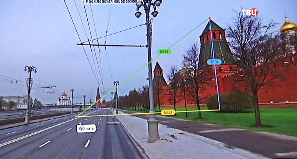 Трехмерная модель Москвы