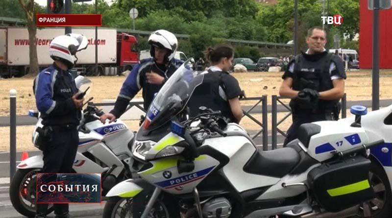 Полиция Франции на месте спецоперации