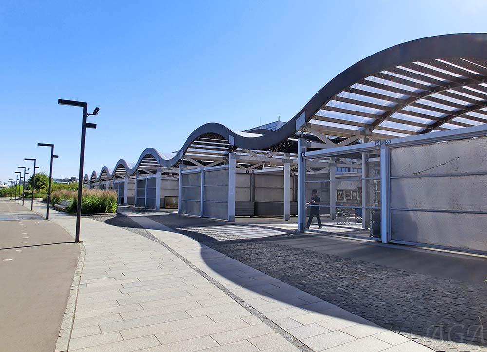 """Выставочные павильоны в парке """"Музеон"""""""
