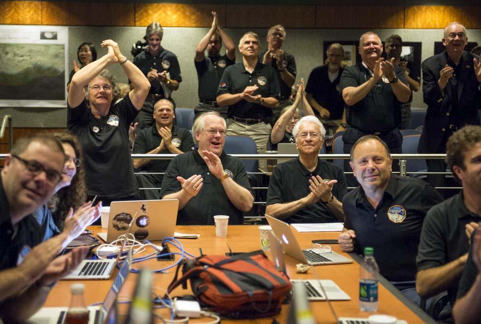 Члены научной группы New Horizons