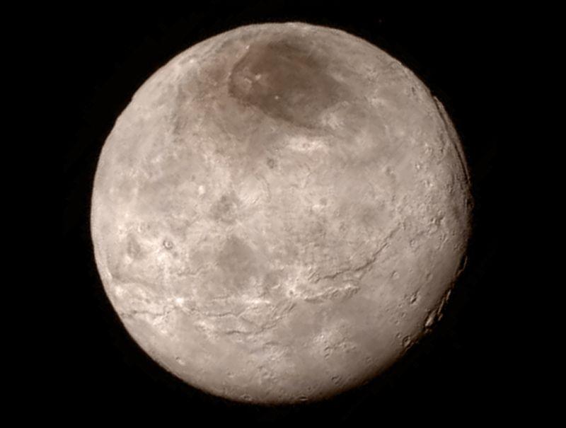 Харон, спутник Плутона