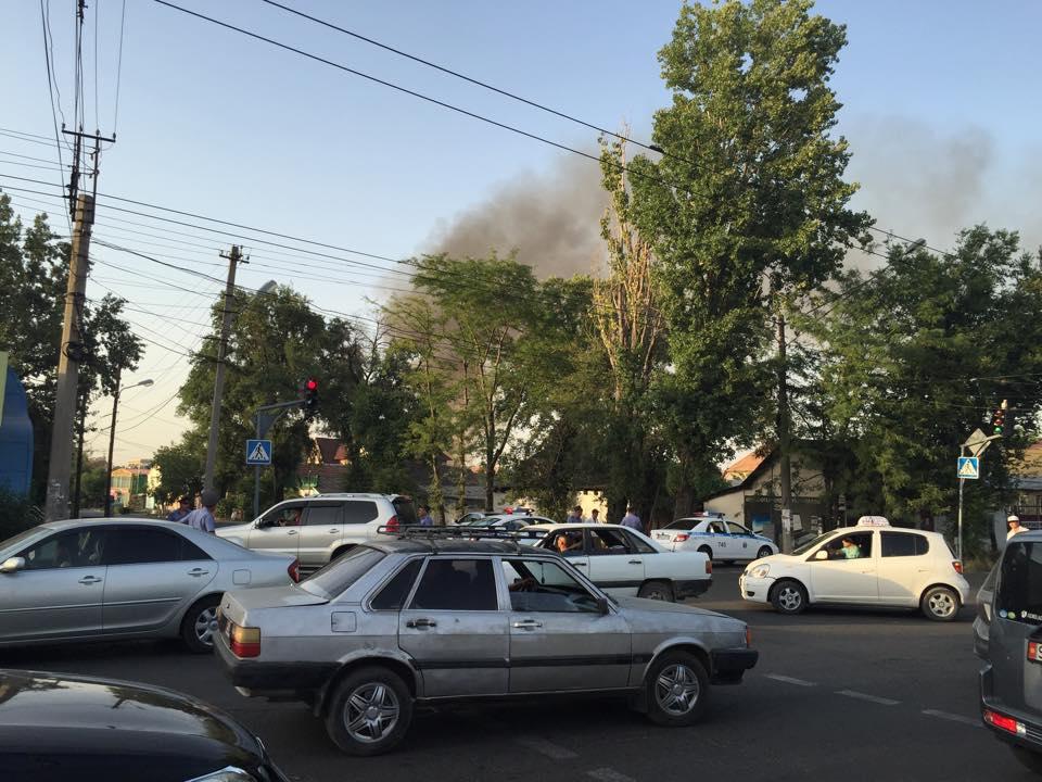 Спецоперация в Бишкеке