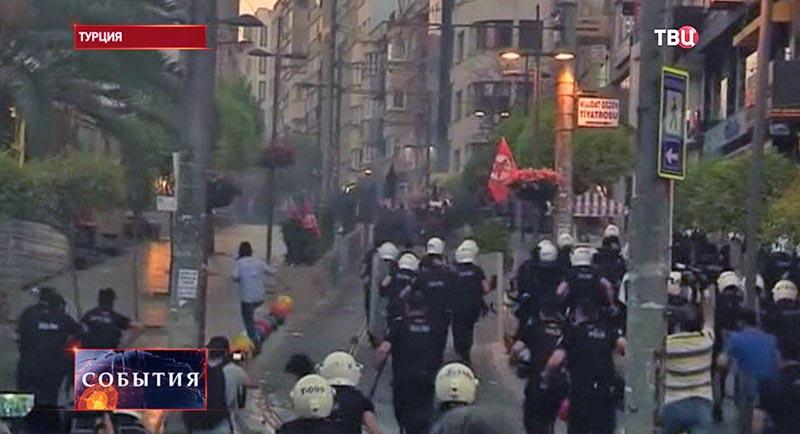 Акция протеста в Турции