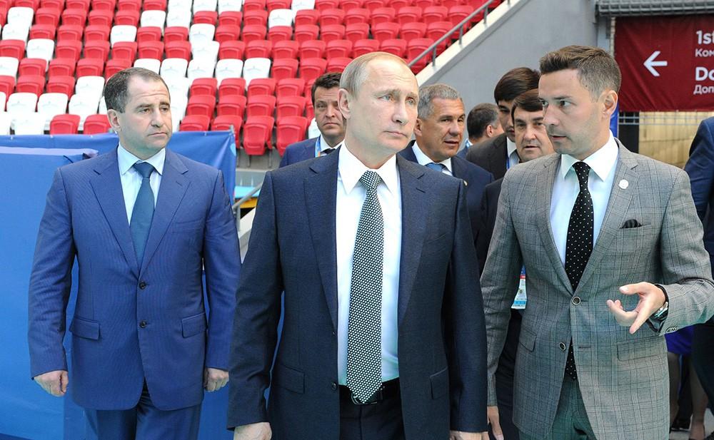 Президент России Владимир Путин посетил стадион «Казань Арена»