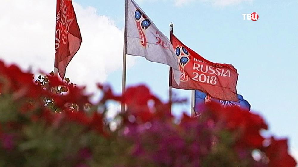 Флаги ЧМ по футболу 2018