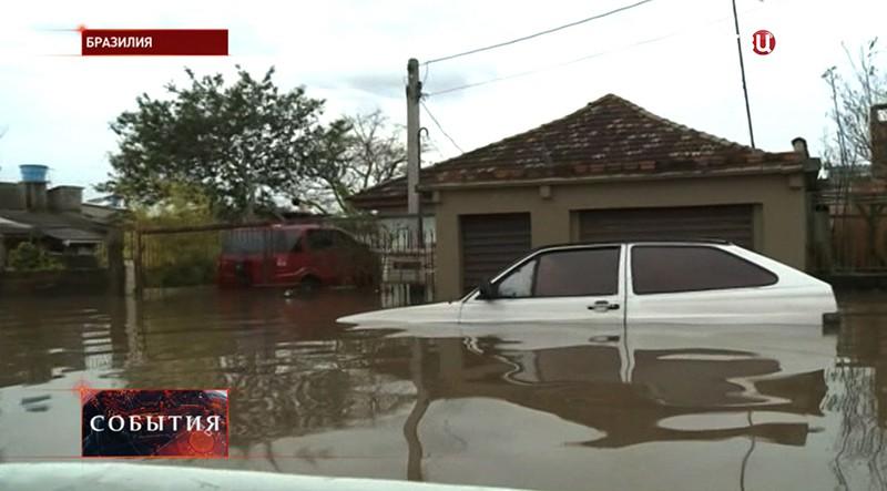 Ураган в Бразилии