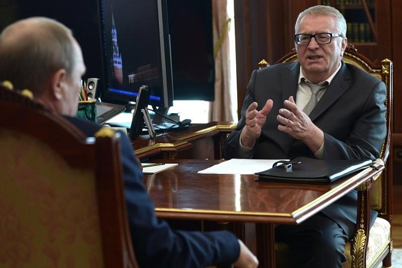 Владимир Путин и Владимир Жириновский