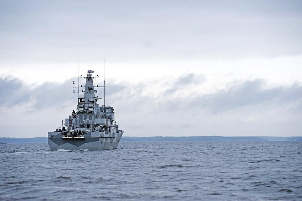 Катер Шведских ВМФ