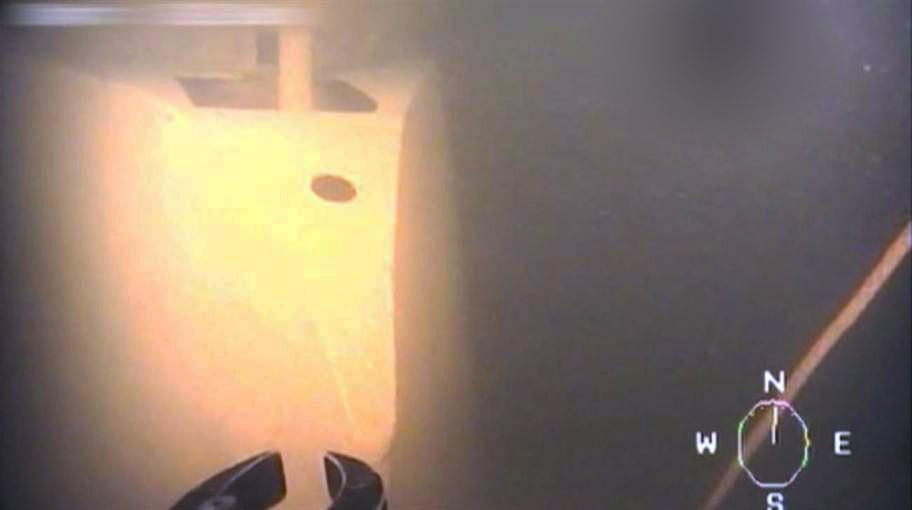 Найденная затонувшая у берегов Швеции подводная лодка