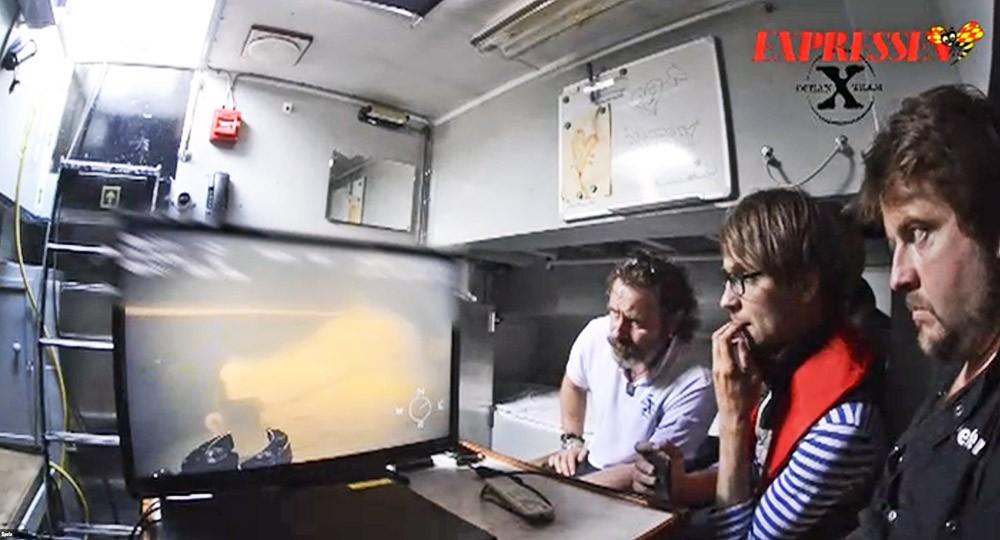 Специалисты изучают кадры с затонувшей у берегов Швеции подводной лодки