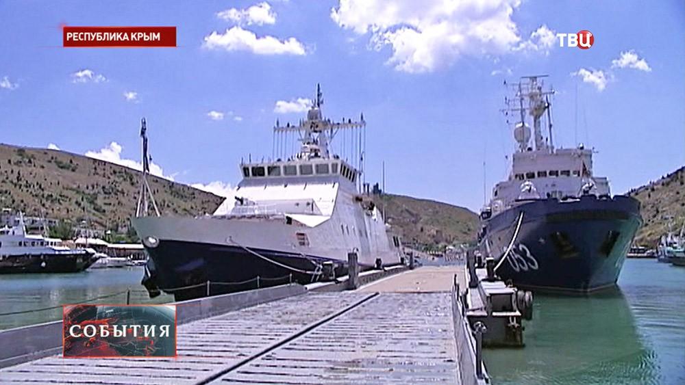 Катера береговой охраны Крыма