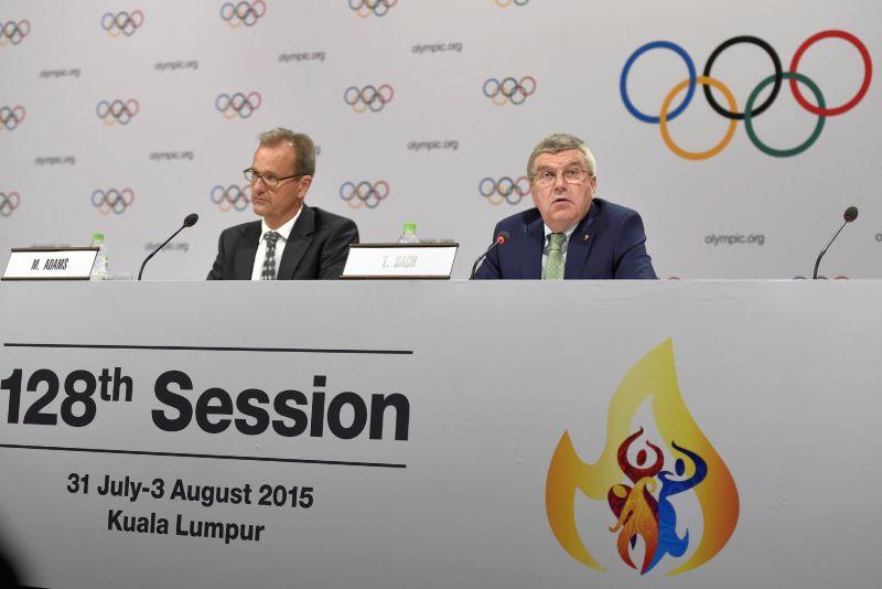 Пресс-конференция Международного олимпийского комитета