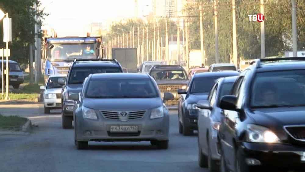 Автомобильное движение в Новосибирске
