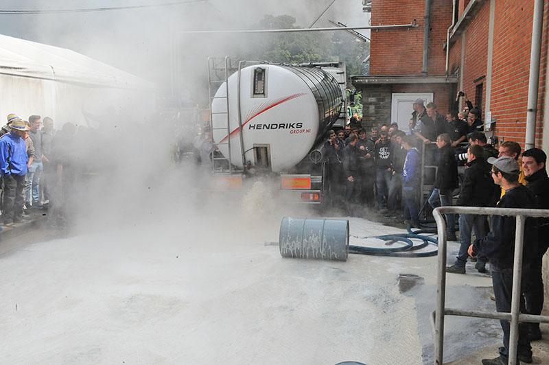 Забастовка фермеров в Европе