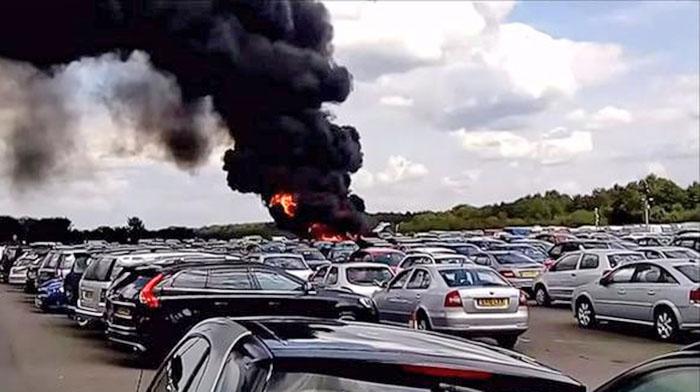 Авиакатастрофа в Англии
