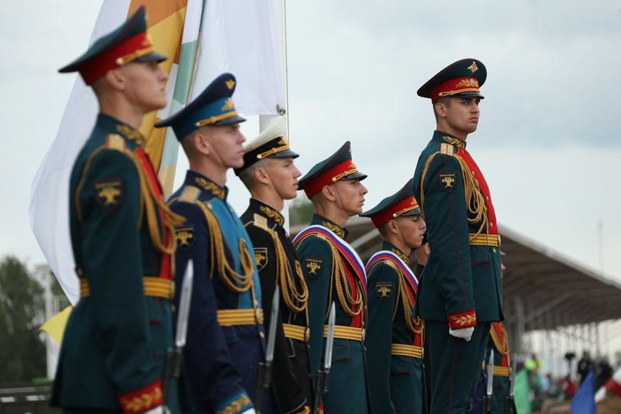 Церемония открытия Армейских международных игр