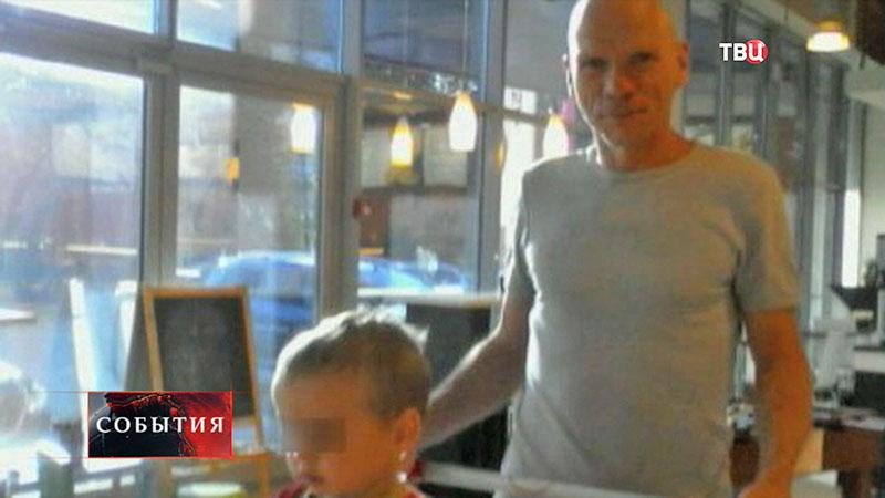 Олег Белов, подозреваемый в убийстве детей