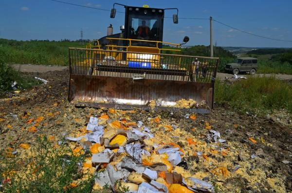 Уничтожение санкционной продукции