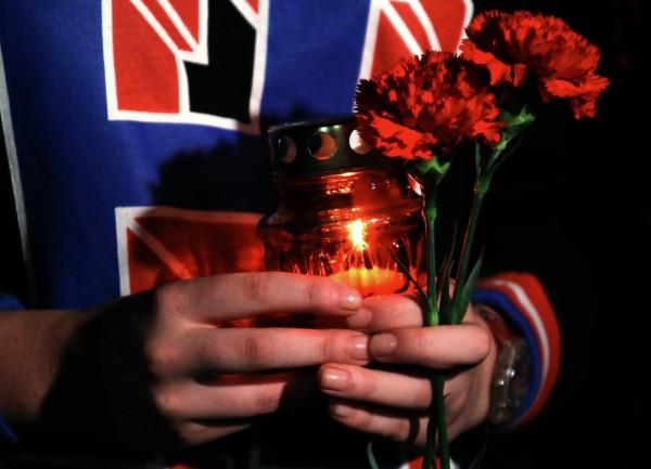 На памятном мероприятии, приуроченном к 7-летней годовщине трагических событий в Южной Осетии
