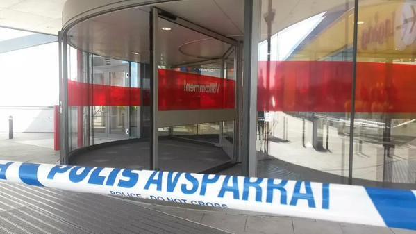 Нападение на магазин IKEA в Швеции