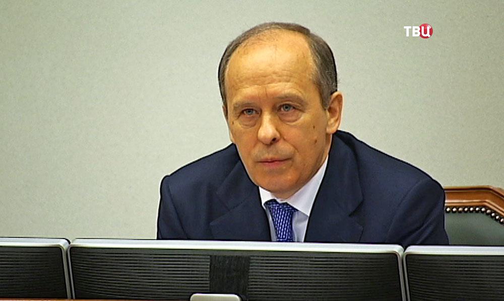 Директор ФСБ России, председатель НАК Александр Бортников